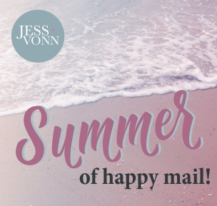 Happy Mail logo - summer square-01