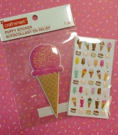 Delicious ice cream stickers.